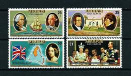 Aitutaki  Nº Yvert  201/4  En Nuevo