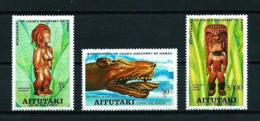 Aitutaki  Nº Yvert  221/3  En Nuevo