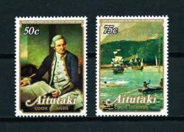 Aitutaki  Nº Yvert  234/5  En Nuevo