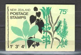 New Zealand 1970 Booklet WZ 8Y MNH - Booklets