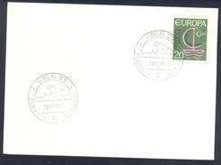 Germany Deutschland 1966 Card: Cavallo Horse Pferd Cheval: Equestrian; Preis Von Europa