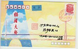 Chine. China  1993  Année Du Coq.  Lettre Au Tarif Intérieur - Nouvel An Chinois