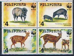 MDW-BK1-036 MDA MINT PF/MNH ¤ PILIPINAS 1997 4w In Serie ¤ WWF - WILD - ENDANGERED ANIMALS