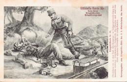 Alte KRIEGSBILD- Karte Nr. 43 / Herausgeber Kriegshilfsbüro / Österreich - 1915 Gelaufen - - Österreich