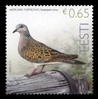 Estonia 2017 Mih. 882 Fauna. Bird Of The Year. Turteldove MNH **