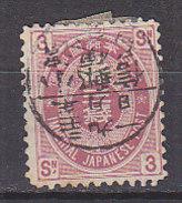 PGL BU0102 - JAPON JAPAN Yv N°78 - Usati