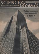 SCIENCES AVENIR 11 1953 - INDE - CINEMA - CAVIAR ESTURGEONS GIRONDE - CANCER - BATHYSCAPHES FNRS 3 & TRIESTE PICCARD - - Journaux - Quotidiens