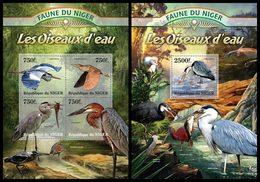 NIGER 2013 - Water Birds - YT 1772-5 + BF150; CV = 31 €