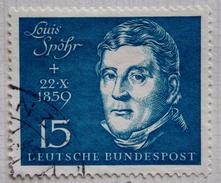 Allemagne RFA Y&T N° 189 (o) Louis Spohr , Centenaire De Sa Mort
