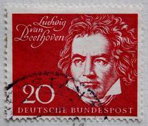 Allemagne RFA Y&T N° 190 (o)  Ludwig Van Beethoven