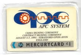 UK - Mercury - APC System - MER282 - 3.000ex, NSB - United Kingdom