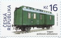** 917 Czech Republic Railroad Mail Car 2017