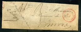 Précurseur De Malines à Anvers 1849 - 1830-1849 (Belgique Indépendante)