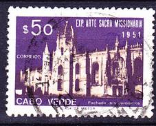 Kap Verde -  Hieronymitenkloster In Santa Maria De Belém (MiNr: 297) 1953 - Gest Used Obl