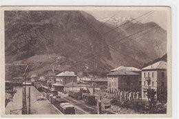 Tirano - Interno Della Stazione - 1921    (PA-19-110529) - Andere Städte