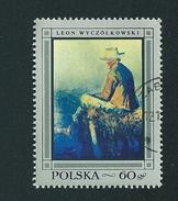 N° 1715 Léon Wyczolkowski  Timbre  Pologne Oblitéré/neuf   Polska 1968