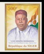 NIGER 2013 - President Mahamadou IMPERF. - YT 1788, Mi 2146B