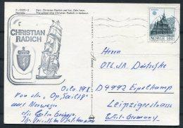 Norway Oslo Christian Radich Sailing Ship Postcard - Norway