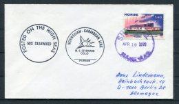 1976 Norway M.S. STARWARD Oslo Norwegian - Caribbean Line Ship Cover - Norway