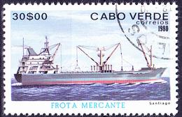 Kap Verde - Schiff/ship/navire Santiago (MiNr: 436) 1980 - Gest Used Obl