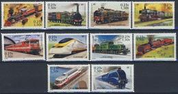MVT-BK1-013-2 MINT ¤ FRANKRIJK FRANCE 2001 10w ¤  TRAINS - LES LÉGENDES DU RAIL - RAILROAD - TREINEN