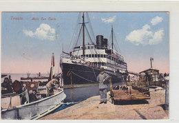 Trieste - Molo San Carlo - Bella Animazione - 1912    (PA-19-110529) - Trieste