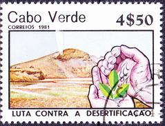 Kap Verde - Kampf Gegen Erosion/Fight Against Erosion/Lutte Contre L'érosion (MiNr: 437/8) 1981 - Gest Used Obl