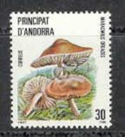 Andorre Esp 1986. Champignon. Yv 177 (**)
