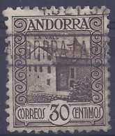 Andorra - 1931. Paisajes 30 Cts Ed 21d (o) - Raro