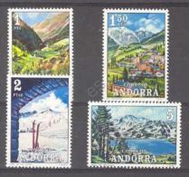 Andorra Spa 1972. Tourismus. Mi 72-75 (**)