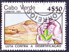 Kap Verde - Kampf Gegen Erosion/Fight Against Erosion/Lutte Contre L'érosion (MiNr: 437) 1981 - Gest Used Obl