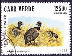 Kap Verde - Helmperlhuhn (Numida Meleagris) (MiNr: 449) 1981 - Gest Used Obl