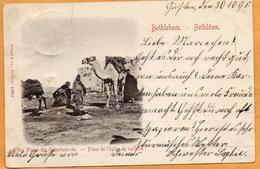 Bethlehem Palestine 1898 Postcard