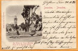 Jerusalem Palestine 1898 Postcard