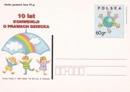 Poland Postal Stationary 1999  Children   - Mint  (G81-5)