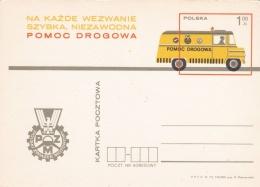 Poland Postal Stationary 1973 Pomoc Drogowa   - Mint  (G81-5)
