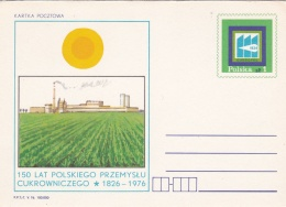 Poland Postal Stationary 1976 150 Lat Polskiego Przemyslu Cukrowniczego   - Mint  (G81-5)