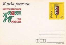 Poland Postal Stationary 1978 Doeynki Centralne Olsztyn   - Mint  (G81-5)