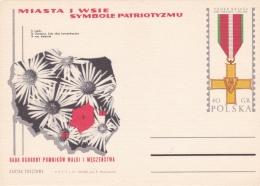 Poland Postal Stationary 1971 Miasta I Wsie Symbole Patriotyzmu  - Mint  (G81-5)