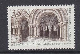 France 1990 Abbaye De Flaran-Gers 1v ** Mnh (FR156BD))