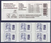 C - Ciappa Datamatrix Europe - Utilisez Le Nombre De Timbres Correspondant Au Poids - Sans Date Ni Numéro (2017) Neuf** - Carnets