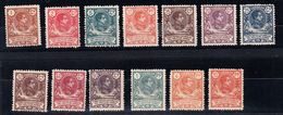 GUINEA 1909. ALFONSO XIII .SERIE BASICA  EDIFIL Nº 59/71  NUEVO SIN  CHARNELA    SES475GRANDE - Spanish Guinea