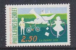 France 1991 Philex Jeunes 1v ** Mnh (FR156BK)