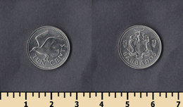 Barbados 10 Cents 1973 - Barbades