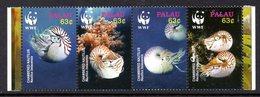 Palau 2184/87 Nautiles - W.W.F.