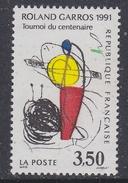 France 1991 Roland Garros 1v ** Mnh (FR156BN)