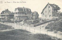 DE PANNE - Villas Dans Les Dunes - De Panne