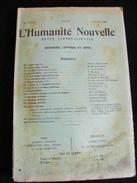 Revue Avril 1900 L' Humanité Nouvelle N°34 Revue Internationale Littéraire Politique Tendance Anarchiste -- GAR - Livres, BD, Revues