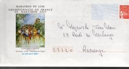 FRANCE  PAP Marathon 2001 Course