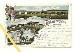 AK Adamsfreiheit Bei Neubistritz - Mehrbild - Um 1900 - Tschechische Republik